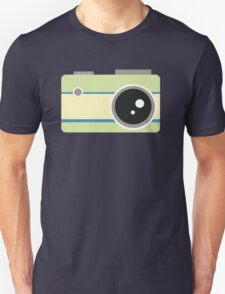 green camera graphic Unisex T-Shirt