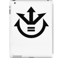 The Saiyan Royal Coat of Arms (Dragonball Z) iPad Case/Skin