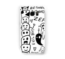 Zef Doodles Samsung Galaxy Case/Skin