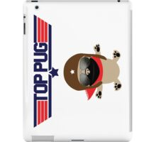 Top Pug Dog iPad Case/Skin