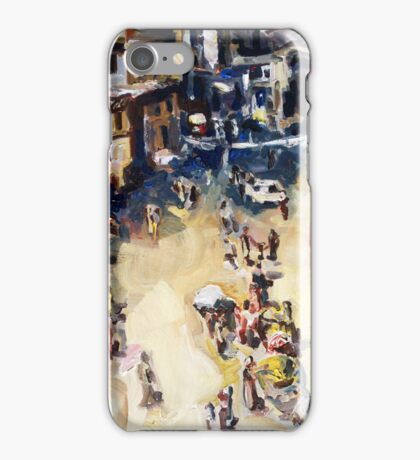 Old city marketplace iPhone Case/Skin