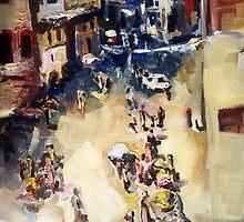 Old city marketplace by ZlatkoMusicArt