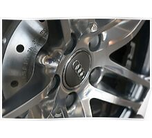 2011 Audi R8 Wheel and Rotor Poster