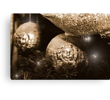 Christmas Glitter Canvas Print