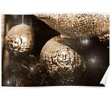 Christmas Glitter Poster