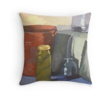 The Pickle Jar Throw Pillow