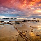 Terrigal Fire by Dave  Gosling Designs