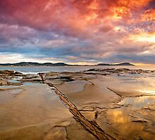 Terrigal Fire by David Geoffrey Gosling (Dave Gosling)