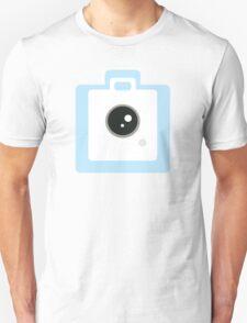 Blue Camera Unisex T-Shirt