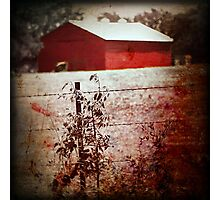 Murder in the Red Barn Photographic Print