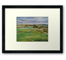 Scottish Lowlands Framed Print