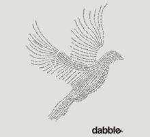 Self Help Dove Tee by dabbleshop