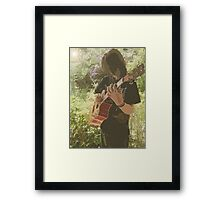 Reflected in the Music Framed Print