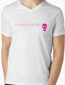 Terrible Comfort Salt Tax - pink Mens V-Neck T-Shirt