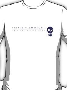 Terrible Comfort Salt Tax - purple T-Shirt