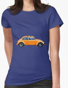 Volkswagen Beetle Womens Fitted T-Shirt