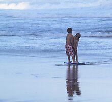 Ek en jy en ons twee / Seaside pals by Antionette