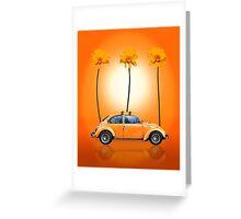 Volkswagen Beetle Greeting Card