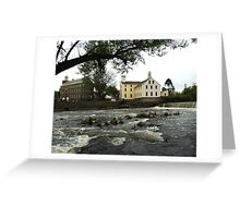 Across the river Greeting Card
