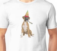 Boxer Birthday Unisex T-Shirt
