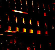 """""""10 green bottles hanging on the wall.. 10 green""""...... by Glynn Jackson"""