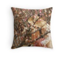 dear,i will say something to you Throw Pillow