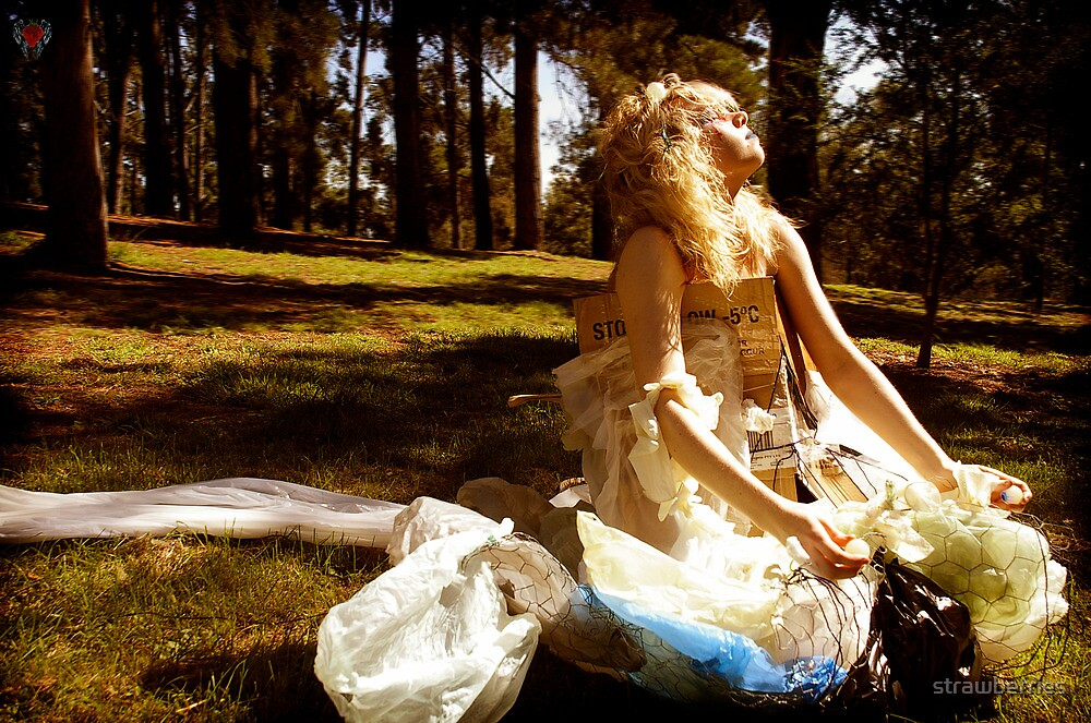 ever feel like a plastic bag, drifting through the wind wanting to start again by strawberries