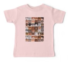 Cat Faces Baby Tee
