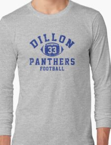 Dillon Panthers Football - 33 Long Sleeve T-Shirt