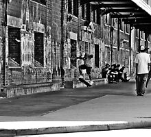 Freo Skaters by David  Pemberton