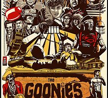 The Goonies Never Say Die by laedoni