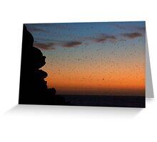 Living Sunset Greeting Card