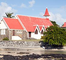 Chapel/church of cap Malheureux,Mauritius by rajeshbac