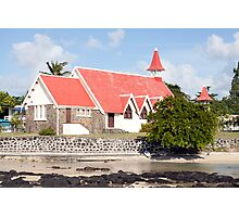 Chapel/church of cap Malheureux,Mauritius Photographic Print