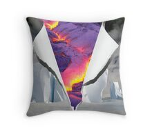 Fire & Ice Throw Pillow