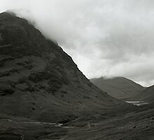 The Pass at Glencoe by Ivan Prosper