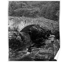 Stone Bridge in Scotland Poster