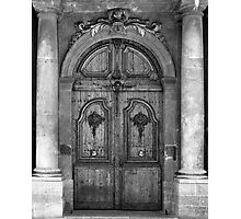 Fancy French Doors Photographic Print