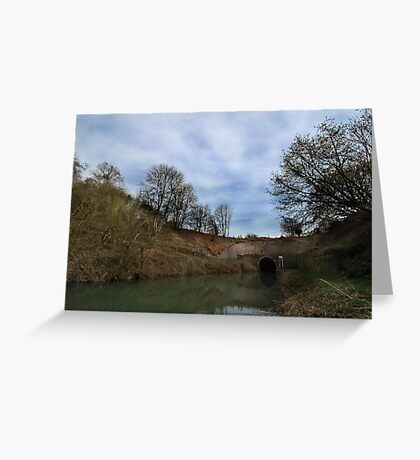 Bruce Tunnel - West End Greeting Card