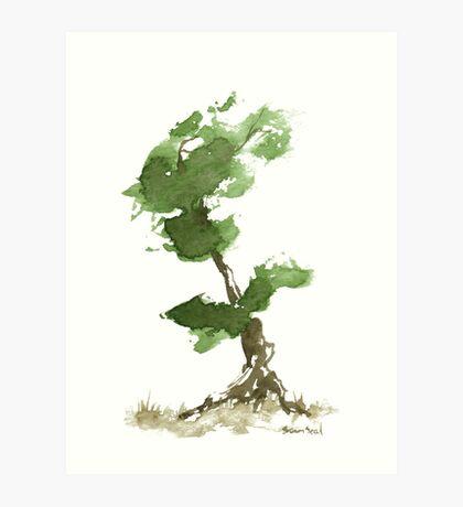 Little Zen Tree 184 Art Print