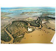 Darling River Flood Plains Poster