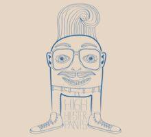 HIGH Hipster pants - No half steppin'  by ABANArt