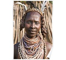 KARO TRIBE - CHIEF'S FIRST WIFE Poster