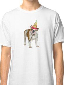 Bulldog Birthday Classic T-Shirt
