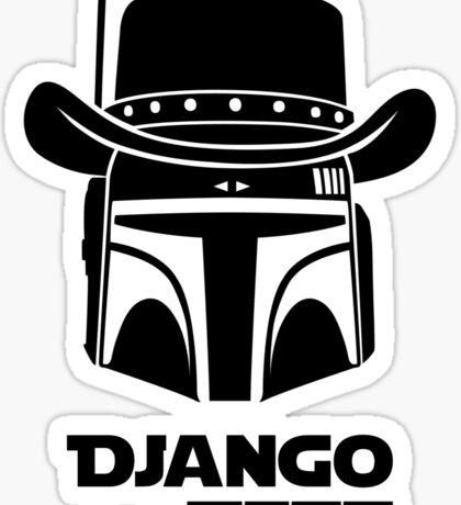 Django Fett Unchained Sticker