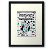 GraphMan Framed Print