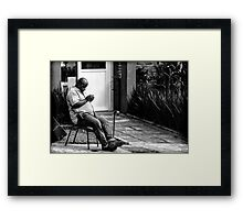 Street Photography Framed Print