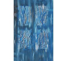 Blue Window Photographic Print
