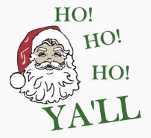 HO! HO! HO! YA'LL SOUTHERN CHRISTMAS Baby Tee