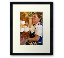 Wasen Fest Framed Print